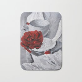 The Scent of Rose Bath Mat