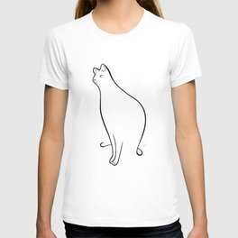 Linear Cat 01 T-shirt