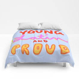 Young, Latin and Proud Comforters