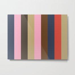 INTENSIVE Abstract Pattern Metal Print