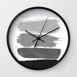 Greytone; Wall Clock