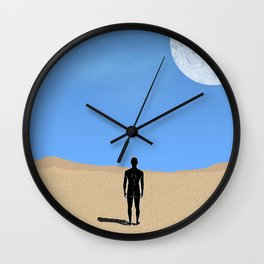 Throat Chakra. Wall Clock