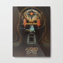 Altered States alternative movie poser Metal Print