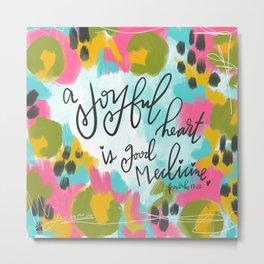 Joyful Heart Metal Print