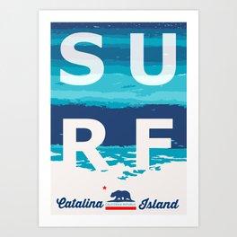 Catalina Island.  Art Print