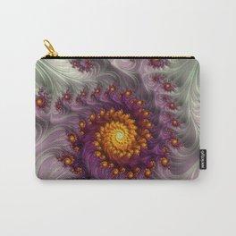 Saffron Frosting - Fractal Art Carry-All Pouch