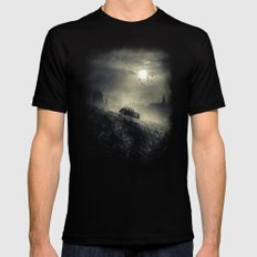 Chapter IV MEDIUM Black Mens Fitted Tee