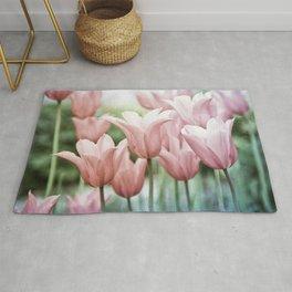 Lovely Tulips Rug