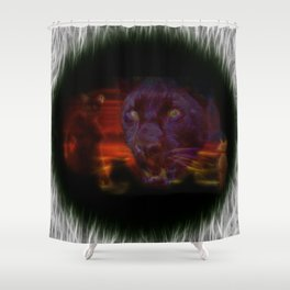 Egypt Goddess Bastet Shower Curtain