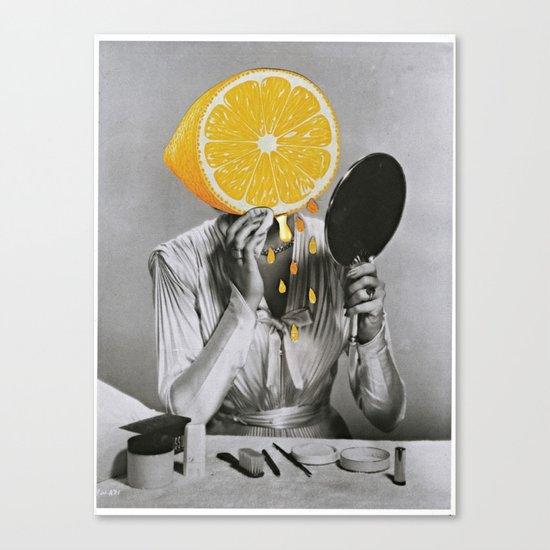 Dont Be A Lemon Canvas Print