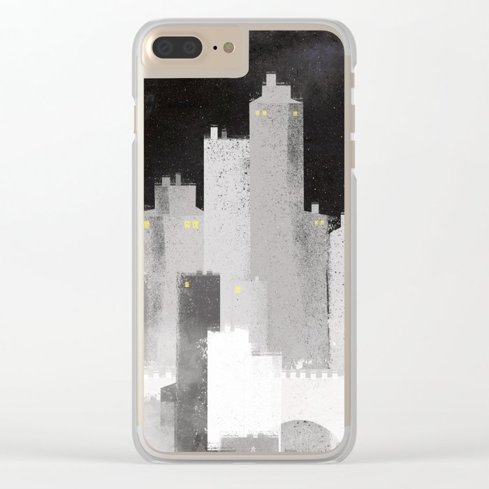 Edinburgh studies Clear iPhone Case
