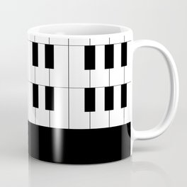 Ebony and Ivory Coffee Mug