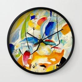 Kandinsky Sea Battle Wall Clock