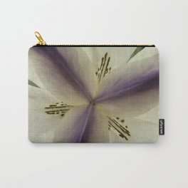 Purple with double triad Carry-All Pouch