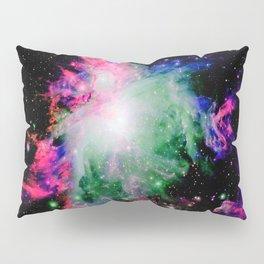 Orion Nebula Black Pyschedelic Pillow Sham