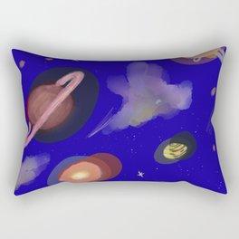 Space Story Rectangular Pillow