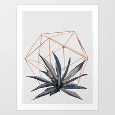 #geometrical Art Print