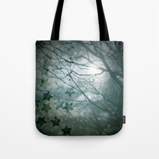 Falling Into Night Tote Bag