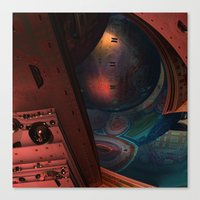 sci fi Canvas Prints featuring Sci-Fi by Lyle Hatch