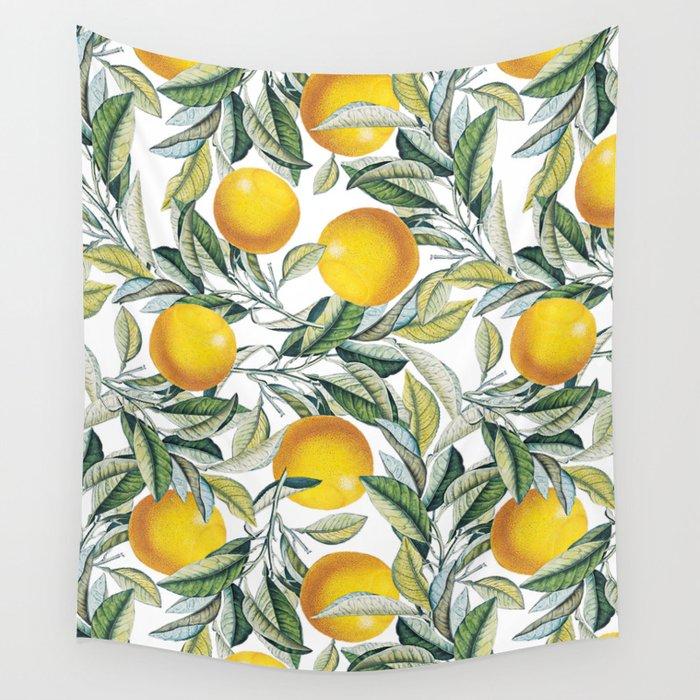 Lemon and Leaf Pattern VI