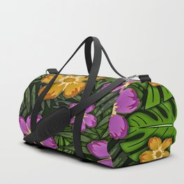 Tropical Botanicals Duffle Bag