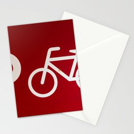 Amsterdam streets - #red 2 Stationery Cards