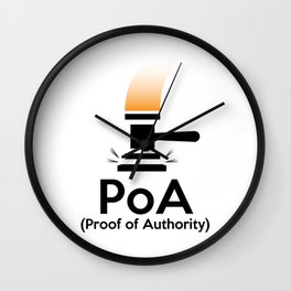 PoA - Proof of Authority Wall Clock