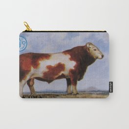 Simmental Bull Carry-All Pouch