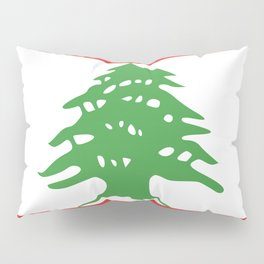 Lebanon flag emblem Pillow Sham