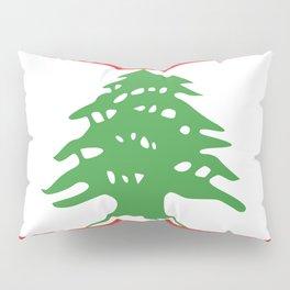 Lebanon flag emblem Pillow Sham
