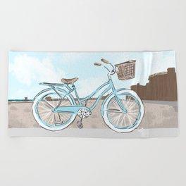 Beach Cruiser Beach Towel