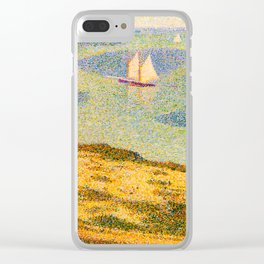 Port-en-Bessin Entrance to the Outer Harbor Georges Seurat - 1888 Impressionism Modern Populism Oil Clear iPhone Case
