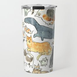 cats !!! Travel Mug