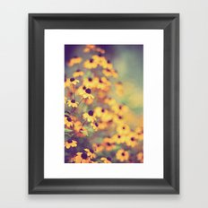 bright-eyed Framed Art Print