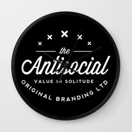 the antisocial Wall Clock