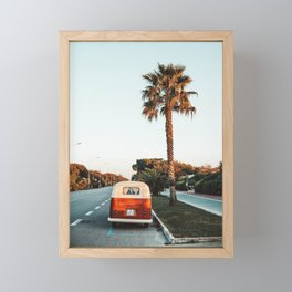 Summer Road Trip Framed Mini Art Print