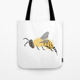 Abstract Bee Tote Bag