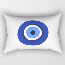 evil eye symbol Rectangular Pillow