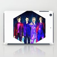 suits iPad Cases featuring The Doctors: Galaxy Suits by Paris Noonan