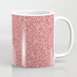 Melange - White and Firebrick Red Coffee Mug