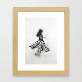 Dancer / 02 Framed Art Print
