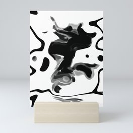 Ink Blot 11 Mini Art Print