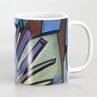 wings Mugs featuring WINGS by Deyana Deco
