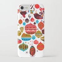 xmas iPhone & iPod Cases featuring xmas by echo3005