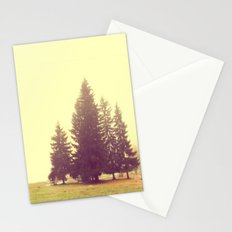 Four in the mist Stationery Cards