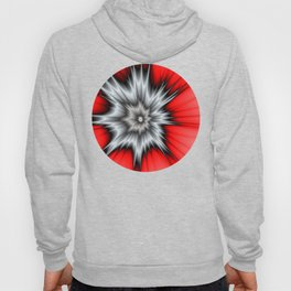 Crazy, Abstract Fractal Art Hoody