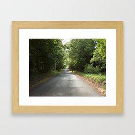 The Green Road Framed Art Print