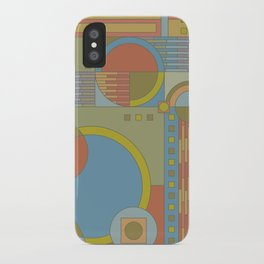 art and crafts circles iPhone Case