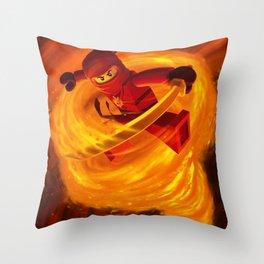 kai fairy ninja Throw Pillow