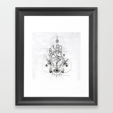 MUDRA by Leo tezcucano Framed Art Print